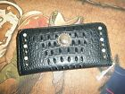New American Western Style Thomas Cook Faux Gator  Purse