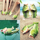 Creative type fish slippers personality fish sandals bling flip flops fish beach
