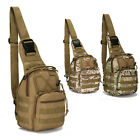 Tactical Molle Military Small Sling Shoulder Outdoor Camping Hiking Chest Bag