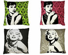 Designer legend Celebrity Retro Vintage Filled Printed Cushion Cover Size 60x60