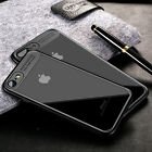 New For iPhone 8 6S 7 Plus X Hybrid Shockproof Ultra Thin Slim TPU PC Case Cover