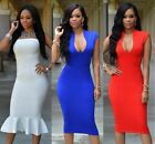 Women's Sleevesless Bandage Bodycon Party Clubwear Cocktail Dress