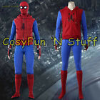 Spider-Man Homecoming Peter Parker Hoodie Zipper Jacket Cosplay Costume