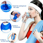 Microfiber Hypothermia Towels Exercise Sweat Summer Sports Cooling Ice Towel Hot image