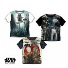 Boys Star Wars T Shirt Official Rogue One Kids Top Tee Age 3-10 Years New
