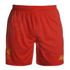 Liverpool FC New Balance mens home red football team knit shorts 2016-17- New