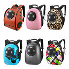 Space Capsule Windons Backpack Transparent Breathable Cat Pet Travel Carrier Bag
