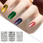 New Fingernail Stickers Printing Transfer DIY Full Decals Nail Art Decoration