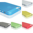 New 0.2mm Ultra Thin Matte Back Plastic Case Cover Skin For iPhone 5 5G 5Gs 5S