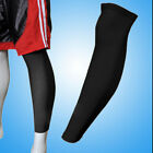 Sports Basketball Leg Knee Protector Gear Cover Long Sleeves Cooling Antislip X1
