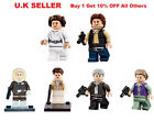 Han Solo and Leia Minifigure Fits Lego Princess Leia Star Wars Force Mini Figure £4.69 GBP
