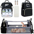 LEQUEEN Mummy Maternity Nappy Diaper Bag Large Capacity Baby Bag Travel Backpack