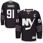 New Mens REEBOK NHL PREMIER JERSEY John Tavares Black Alternate NY Islanders