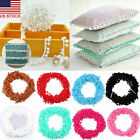 20 yards Ball Pom Pom Bobble Trim Braid Fringe Ribbon Edging Craft Decoration