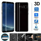 3D Full Cover Front Back Film Tempered Glass Screen Protector for Samsung Galaxy
