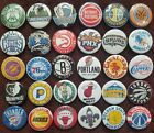 National Basketball Association NBA Button Badges. Pins Collector Bargain. :0)
