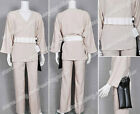 Star Wars Cosplay Luke Skywalker Tunic Costume Kimono Comfortable To Wear New