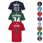 2016-17 NBA Adidas Official Player Name & Number Jersey T-Shirt Collection Men's on eBay
