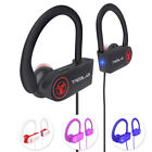 white noise cancellation - TREBLAB XR100 Bluetooth Headphones Best Running Sports Workout Wireless Earbuds