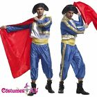 Adult Mens Spanish Bullfighter Matador Costume Bull Fighter Toreador Fancy Dress