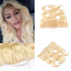 """13""""X4"""" Body Wave Swiss Lace Frontal  Closure 613# Blonde Virgin Human Hair weave"""