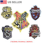Внешний вид - Hogwarts Embroidered Iron On / Sew On Patches Harry potter Applique Embroidery