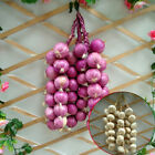 Fake Artificial Vegetable Onions Garlic String Foam Decorative Shooting Props