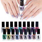 Metallic Nagellack Magic Mirror Effekt Chrom Polish Lack Silber Red Blau 17color