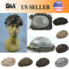 GEX Fine Mono+Poly Base Mens Hairpiece Wig Toupee Replacement System VERSATILE