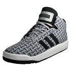 Adidas Originals Veritas Mid Weave Men's Classic Casual Basketball Shoes Grey