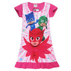 PJ MASKS girls kids summer dress nightie short sleeve pjs size 2-6 AU stock new
