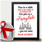 PERSONALISED Engagement Couples Wedding Gift Present Presents Anniversary