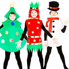 2014 Christmas Kids Fancy Dress Xmas Festive Season Boys Girls Childrens Costume