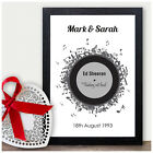 First Dance Record Print - 25th Silver Anniversary Gift - Twenty Fifth Wedding