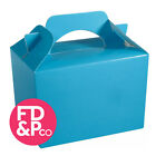 Baby Blue Birthday Fun Party Boxes Food Loot Lunch Cardboard Gift Childrens Kids