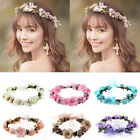 Multi-Color Boho Flower Floral Women Hairband Headband Crown Party Bride Wedding