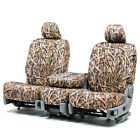 Custom Fit Seat Cover for Ford E-350 Super Duty In Mossy Oak Front & Rear