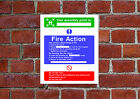 Fire Assembly Point HSE sign Health & Safety FA08 25cm x 30cm sign or sticker