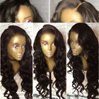 Top Lace 100% Peruvian Human Hair Wig Loose Curly Wave Full Lace Wigs Baby Hair