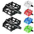 "Road Mountain Bicycle Pedals 9/16"" Aluminum MTB BMX Cycling Bike Flat Platform"
