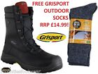 GRISPORT  BOULDER SAFETY BOOTS COMBAT STYLE Eu SIZES