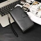 New Fashion Men Casual Synthetic Leather Wallet Card Holder Money Clip LM 01