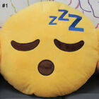 12'' Emoji Emoticon Cushion Pillow Round Yellow Stuffed Plush Soft Toy best Gift