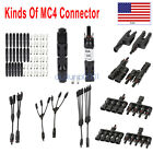 MC4 Adapter Waterproof Male/Female M/F Wire Cable Solar Panel Connector Plug
