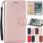 Leather Flip Stand Wallet Photo Frame Magnetic Case Cover For iPhone 7 6 6S 5 SE