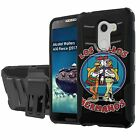 Alcatel Walters/REVVL/A30 Fierce [2017] Defender Case [Holster/KickStand]  - S
