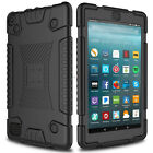 Shockproof Soft Silicone Rugged Case Cover For Amazon Kindle Fire 7 2017 7th Gen