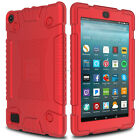 For Amazon Kindle Fire 7 2017 7th Gen Shockproof Soft Silicone Rugged Case Cover