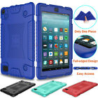For Amazon Kindle Fire 8 2018/7 2017 Shockproof Soft Silicone Rugged Case Cover