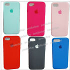 CUSTODIA COVER CASE SILICONE MORBIDA SOFT LOGO MELA PER APPLE IPHONE 6 PLUS 5,5""